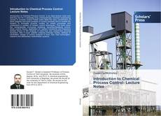 Capa do livro de Introduction to Chemical Process Control- Lecture Notes