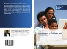 Copertina di Foundations of Guidance and Counseling