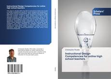 Bookcover of Instructional Design Competencies for online high school teachers