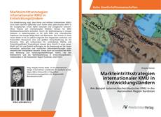 Bookcover of Markteintrittsstrategien internationaler KMU in Entwicklungsländern