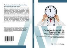 Buchcover von Patientensicherheit im Krankenhaus als Veränderungsprozess