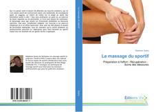Couverture de Le massage du sportif