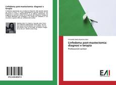 Bookcover of Linfedema post-mastectomia: diagnosi e terapia