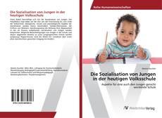 Buchcover von Die Sozialisation von Jungen in der heutigen Volksschule