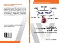 Bookcover of Compliance-Managementsystem gemäß IDW PS 980