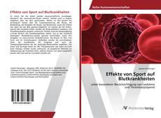 Buchcover von Effekte von Sport auf Blutkrankheiten