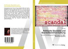 Portada del libro de Politische Skandale und Skandalberichterstattung