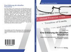 Portada del libro de Eine Erklärung der aktuellen Finanzkrise