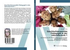 Bookcover of Geschlechtersensible Pädagogik in der Sekundarstufe 1