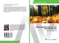 Capa do livro de Sterbebegleitung auf der Intensivstation