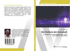 Die Sinfonie der Grosstadt kitap kapağı