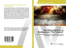 "Bookcover of Das Übernatürliche in Shakespeares ""The Tempest"""