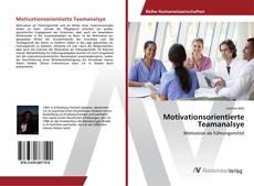 Bookcover of Motivationsorientierte Teamanalsye