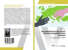 Sozialpolitische Barrieren eines kosmopolitischen Europas kitap kapağı
