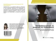 Bookcover of Genderbewusstsein als Anspruch für Gottesdienst