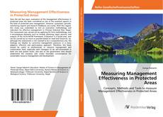 Bookcover of Measuring Management Effectiveness in Protected Areas