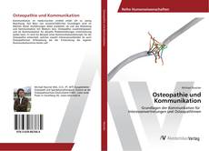 Bookcover of Osteopathie und Kommunikation