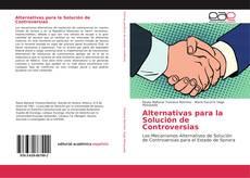Alternativas para la Solución de Controversias的封面