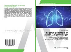 Capa do livro de Lagerungstherapie im akuten Lungenversagen