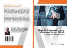 Buchcover von Dispo-Optimierung in einem pharmazeutischen Betrieb