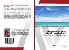 Capa do livro de Ergotherapeuten sollen berufsfähig bleiben!