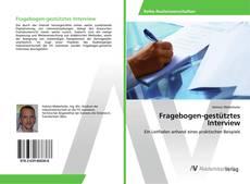 Bookcover of Fragebogen-gestütztes Interview