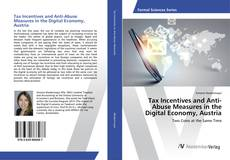 Couverture de Tax Incentives and Anti-Abuse Measures in the Digital Economy, Austria