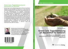 Buchcover von Green Care: Tagesbetreuung am Bauernhof für Senioren