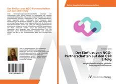 Portada del libro de Der Einfluss von NGO-Partnerschaften auf den CSR Erfolg