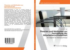 Buchcover von Theorien und Methoden zur Feststellung der Mitarbeiterzufriedenheit