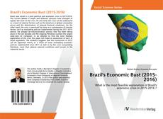 Bookcover of Brazil's Economic Bust (2015-2016)