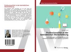 Buchcover von Professionalität in der betrieblichen Weiterbildung