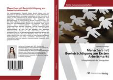 Bookcover of Menschen mit Beeinträchtigung am Ersten Arbeitsmarkt