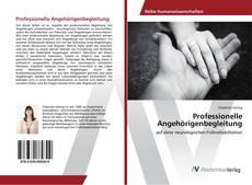 Capa do livro de Professionelle Angehörigenbegleitung