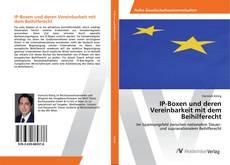 IP-Boxen und deren Vereinbarkeit mit dem Beihilferecht的封面