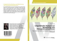 Bookcover of Linguistische Analyse zur Bewertung von Filmsynchronisationen