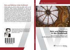Capa do livro de Reiz und Reklame in der Großstadt