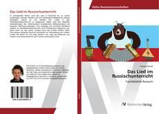 Das Lied im Russischunterricht kitap kapağı