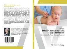 Bookcover of Ethik in der Kinder- und Jugendmedizin