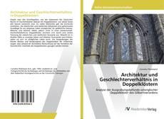 Bookcover of Architektur und Geschlechterverhältnis in Doppelklöstern