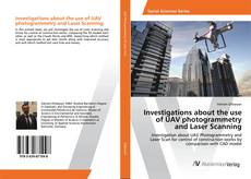 Capa do livro de Investigations about the use of UAV photogrammetry and Laser Scanning