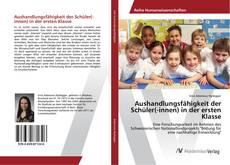 Bookcover of Aushandlungsfähigkeit der Schüler(-innen) in der ersten Klasse