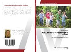 Buchcover von Gesundheitsförderung bei Kindern