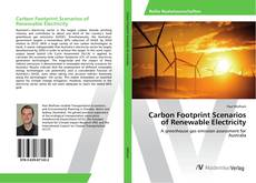 Bookcover of Carbon Footprint Scenarios of Renewable Electricity