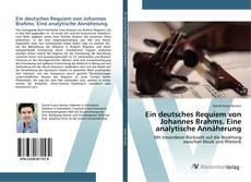 Borítókép a  Ein deutsches Requiem von Johannes Brahms. Eine analytische Annäherung - hoz