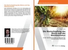 Buchcover von Die Wertschöpfung des Weins und des Weintourismus