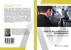 Capa do livro de Ethik in der präklinischen Notfallmedizin
