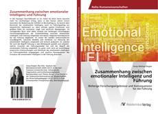 Bookcover of Zusammenhang zwischen emotionaler Intelligenz und Führung