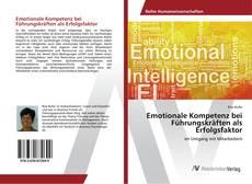 Bookcover of Emotionale Kompetenz bei Führungskräften als Erfolgsfaktor