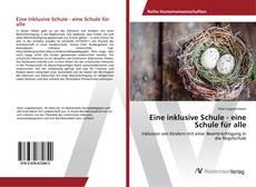 Bookcover of Eine inklusive Schule - eine Schule für alle